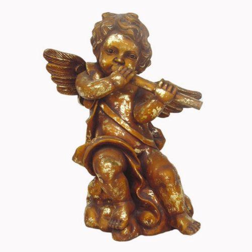 Statuette ange doré nlcdeco