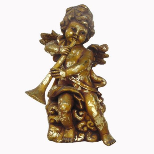 Statuette petit ange musicien nlcdeco