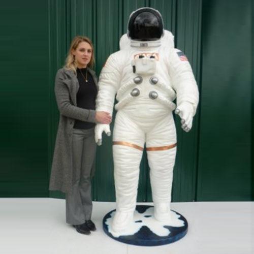 astronaute cosmonaute spacionaute personnage en résine nlcdeco.fr déco (2)