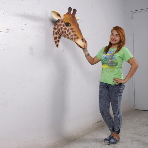 Trophée de girafe NLC DECO