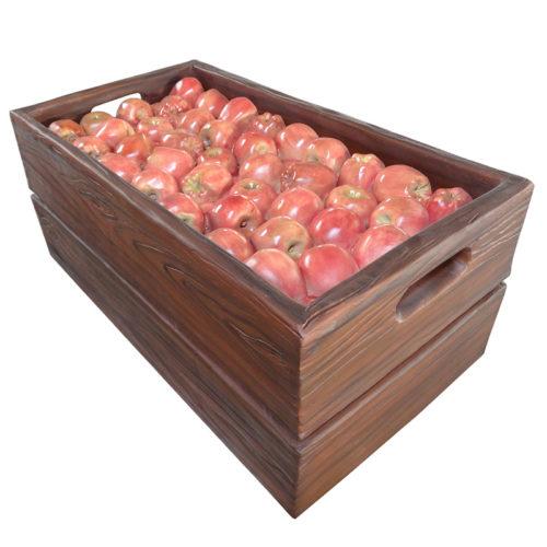 Cageot de pomme à plat