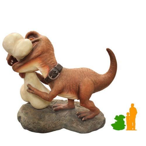 Préhistoire chien-dino NLC DECO
