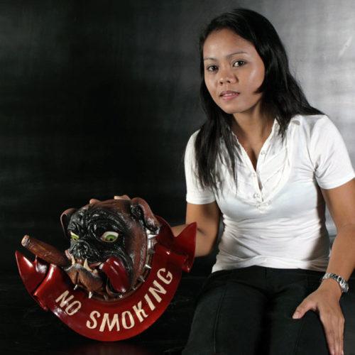 Bouledogue No Smoking AFNSB NLC DECO nlc déco restaurant