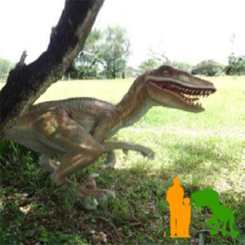 velociraptore dinosaure resine nlc deco déco animaux