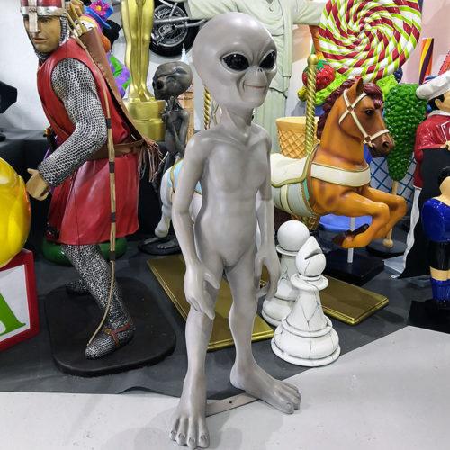 extraterrestre roswell zeltan décoration science fiction personnage ne résine nlcdeco.fr décoration (