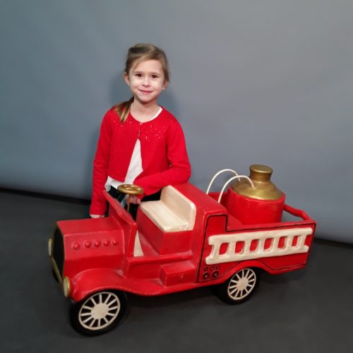 Camion de pompier jouet ancien nlcdeco