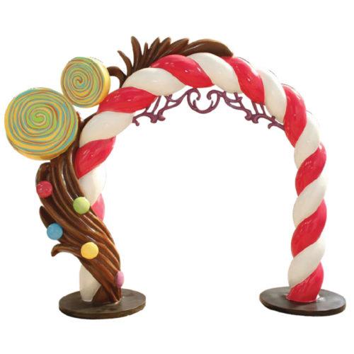 arche bonbon décoration gourmandise en resine nlcdeco