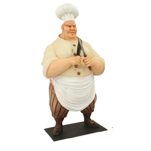 boucher décoration personnage en résine nlcdéco