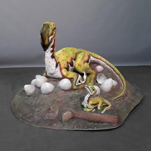 Oviraptor théropode nlcdeco