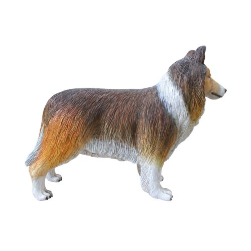 Collie resin dog nlcdeco