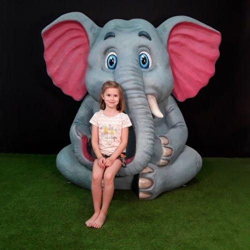 Éléphant géant nlcdeco
