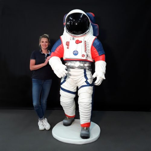 Statue résine Astronaute nasa nlcdeco