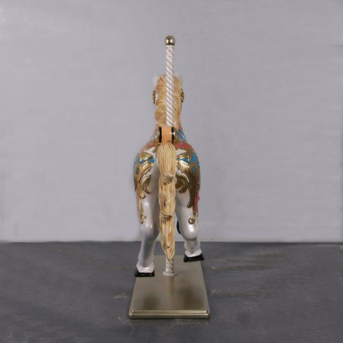 cheval de carrousel vue de dos nlcdeco