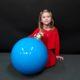 Boule de noël à suspendre bleue nlcdeco