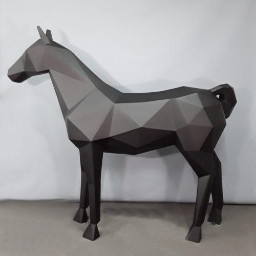 Cheval origami décoration design nlcdeco