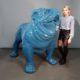 Chien Bouledogue géant bleu nlcdeco