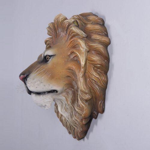 Trophée de lion décor mural nlcdeco