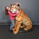 Animal sauvage Tigre en résine nlcdeco