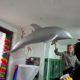 Dauphin à suspendre aquarium nlcdeco