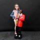 Saxophoniste décor en résine plâtre nlcdeco
