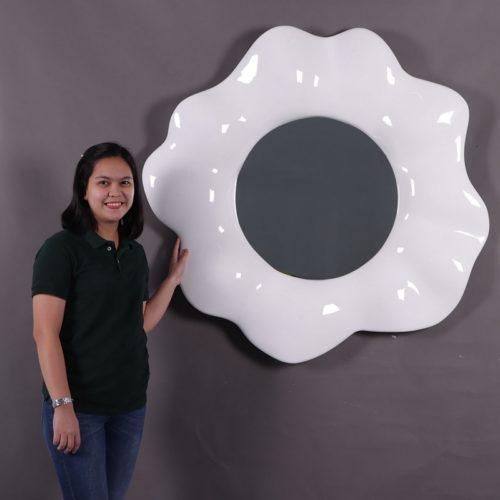 miroir rond forme pâquerette moderne nlcdeco
