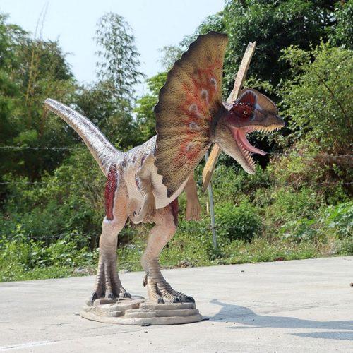 Dilophosaurus parc d'attraction nlcdeco