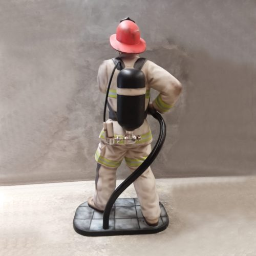 statue Pompier nlcdeco