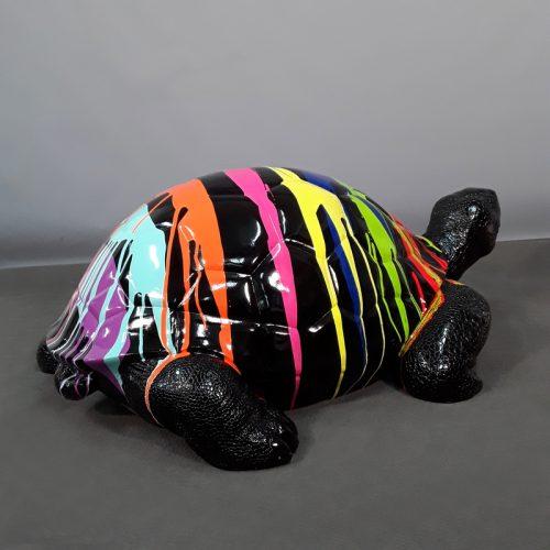Tortue noire design nlcdeco