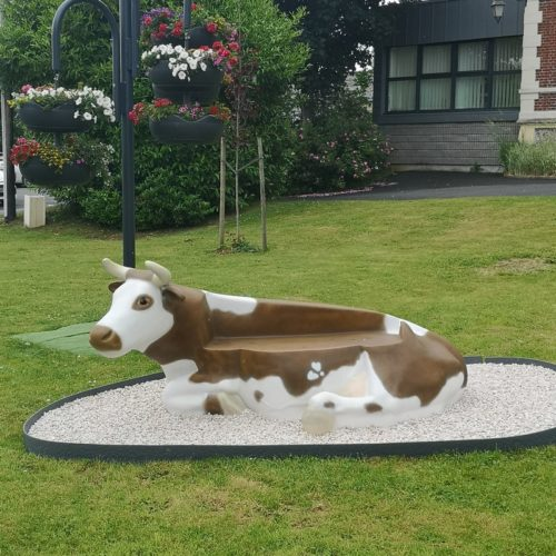 banc vache normande nlcdeco