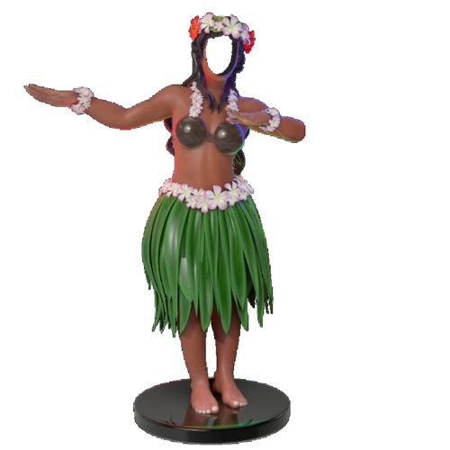 danseuse aloha Hawaï nlcdeco