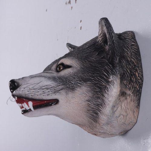 Trophée de loup nlcdeco