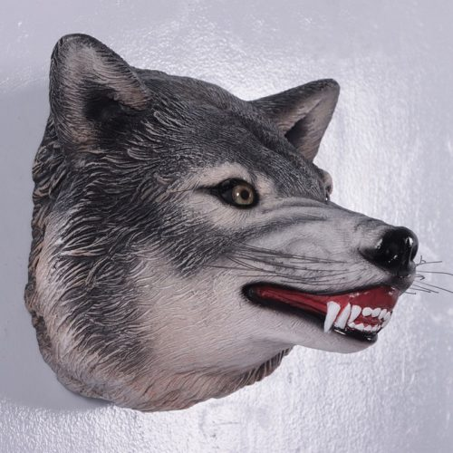 Trophée tête de loup nlcdeco