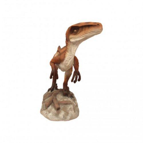 dinosaure vélociraptor résine nlcdeco